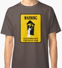 A Note of Concern Regarding Mirrors Classic T-Shirt