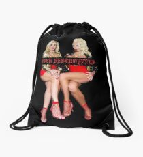 Cock Destroyers - Rebecca More and Sophie Anderson Drawstring Bag