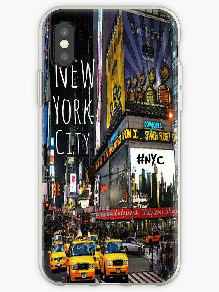 NYC phone case by HayleaC
