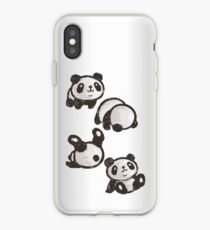 Rolling panda iPhone-Hülle & Cover