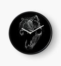 Scribbled T-Rex Uhr