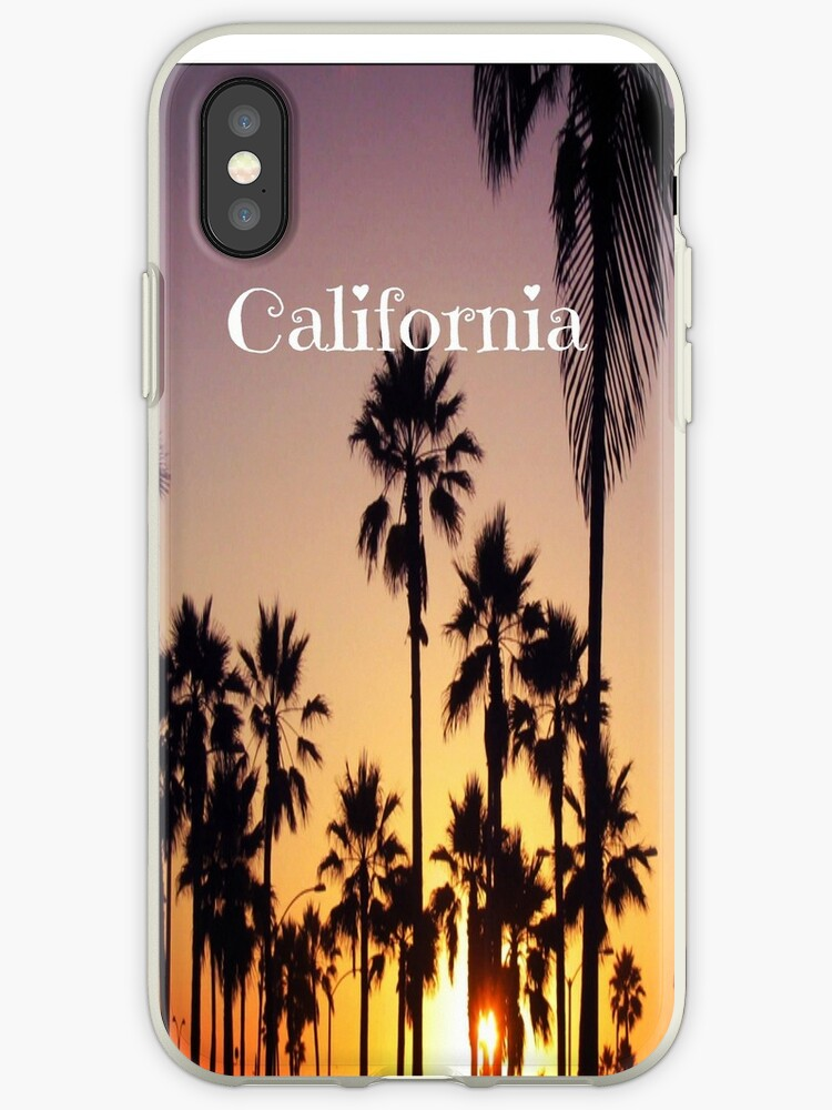 California sunset phone case by HayleaC