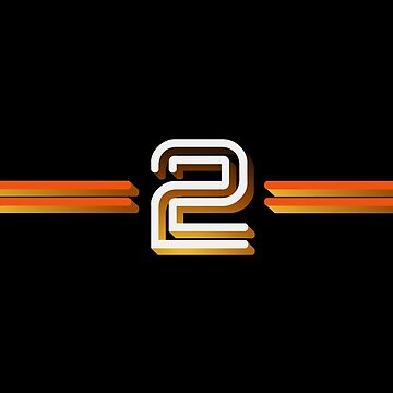 Vintage 40th anniversary BBC Two logo by unloveablesteve