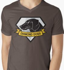 Diamond Dogs (MGSV) Men's V-Neck T-Shirt