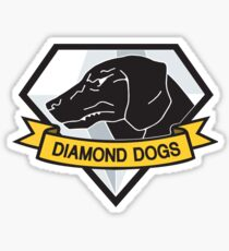 Diamond Dogs (MGSV) Sticker