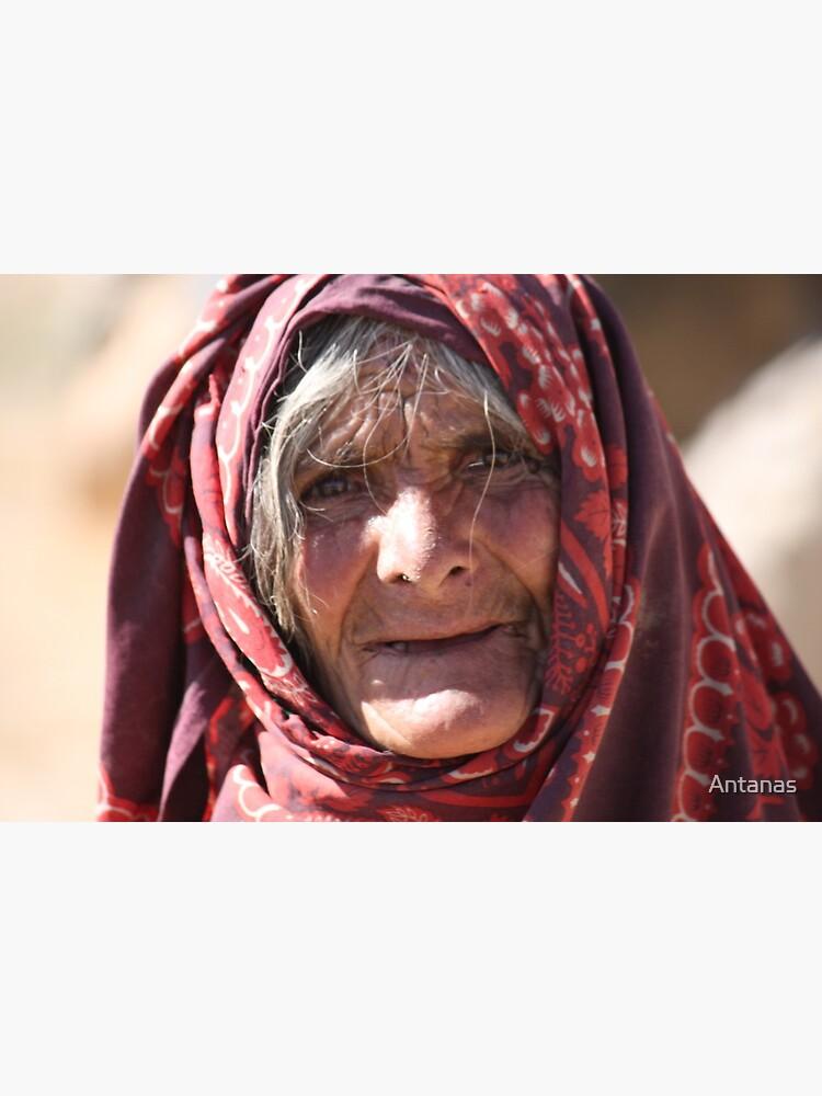 Old Woman (afghanistan) by Antanas