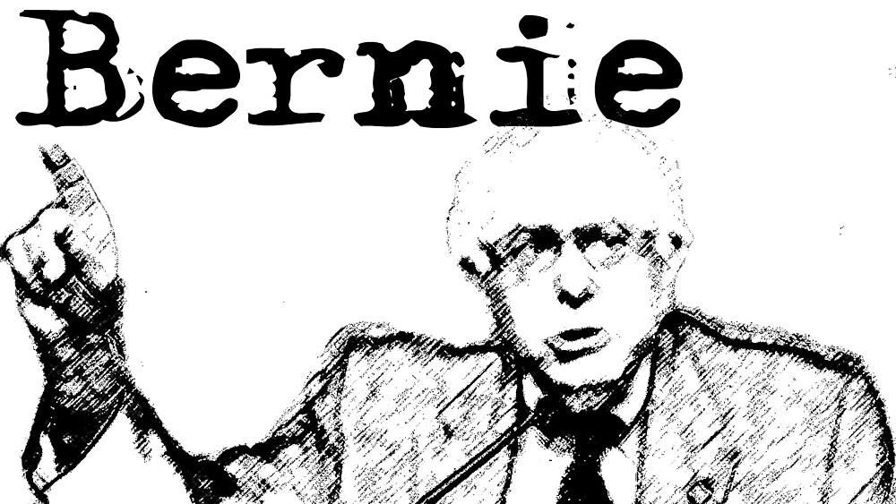 Bernie Sanders for President 2016 by Keith Vance