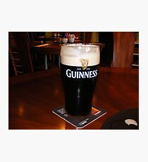 GLASS OF GUINESS Photographic Print
