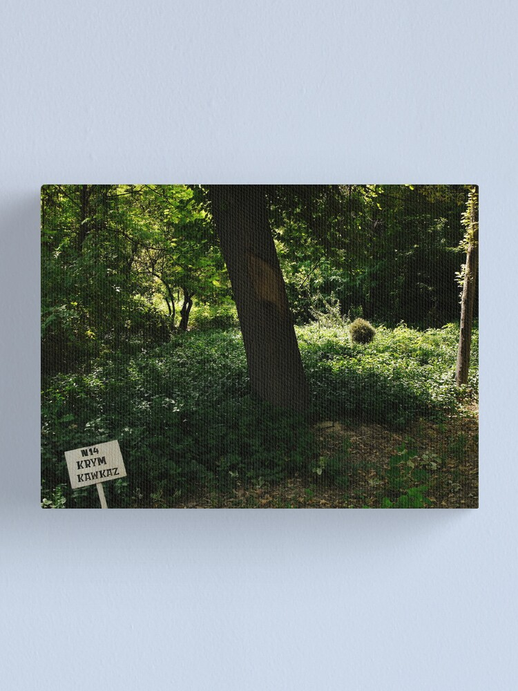 Alternate view of Plot nr. 14 Canvas Print
