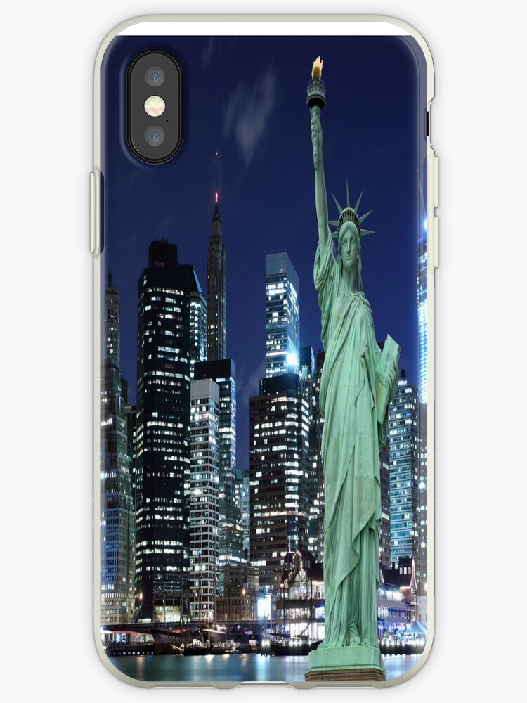 Statue of Liberty phone case by HayleaC