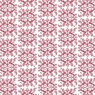Red Paisley by -Patternation-