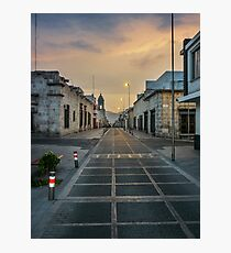 Deserted Street in Arequipa Peru Photographic Print