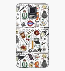 Sherlock Collage (color) Case/Skin for Samsung Galaxy