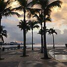 Sunrise Miami by Robert Baker