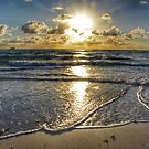 Sunrise Miami Beach by Robert Baker