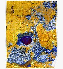 Abstractions--Tlacotalpan, Veracruz Poster