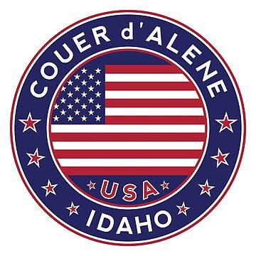 Coeur d'Alene, Idaho by Alma-Studio