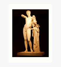 Ermes of Praxitele,Ancient Olympia Art Print