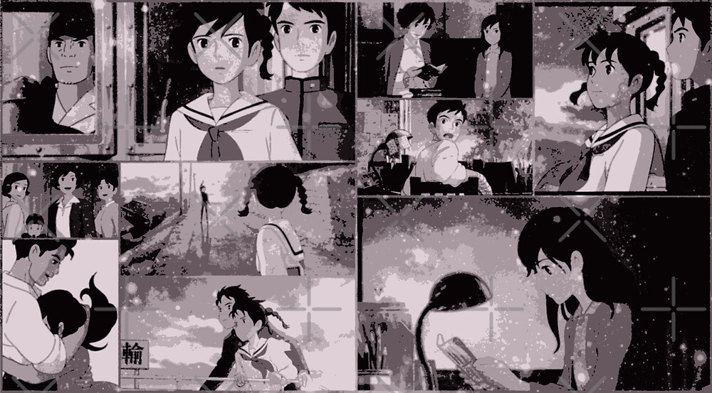 From Up On Poppy Hill collage by dakotarees90