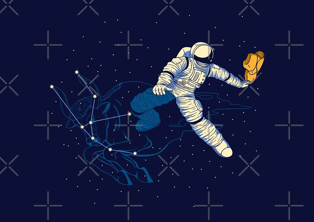 Wild Ride in Space by monochromefrog