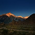 First light on Mt. Whitney by socalgirl