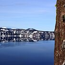 Crater Lake Rim by Forest Snowden