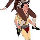Benjamin Franklin and Iroquois Confederacy by ambriente