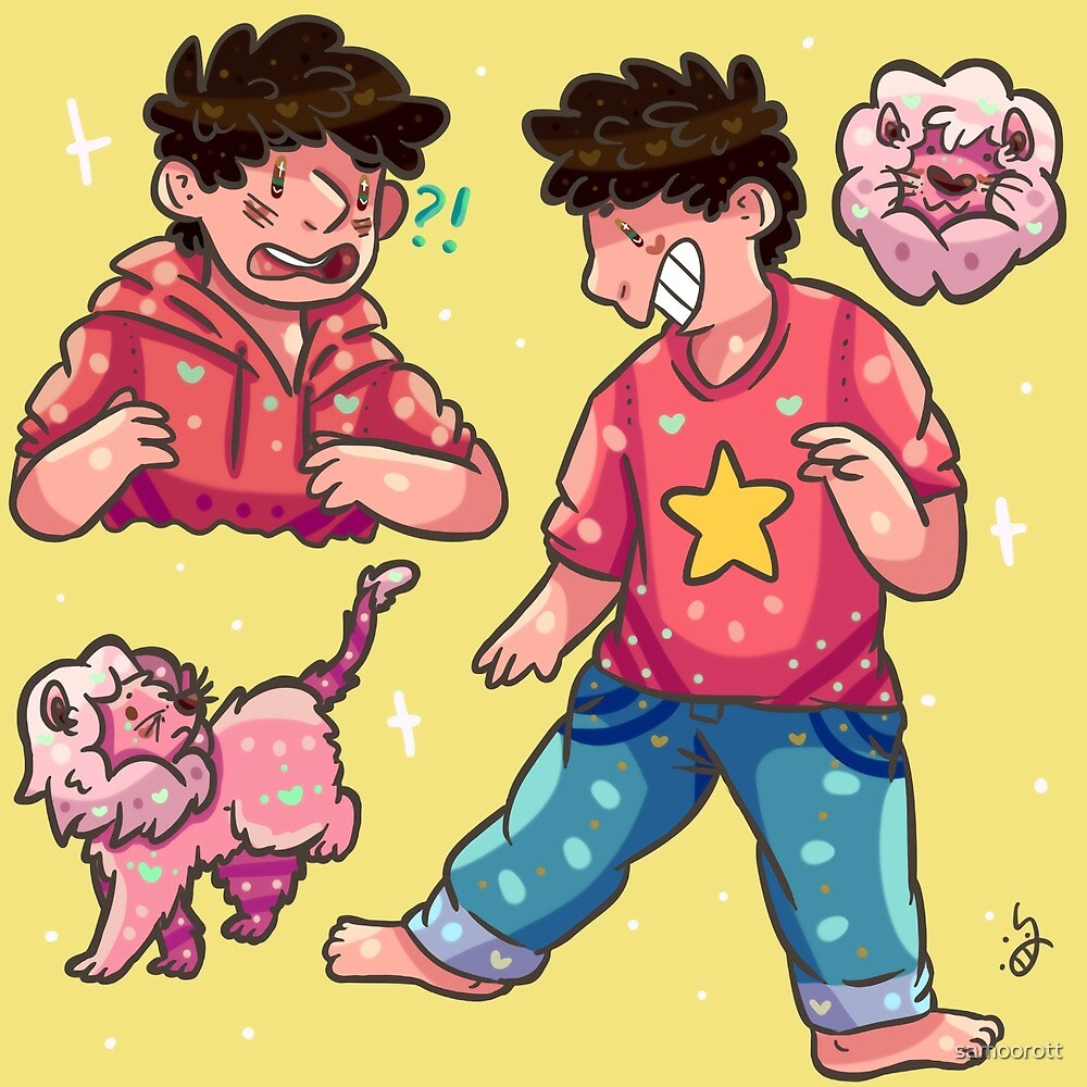 Steven And Lion by samoorott