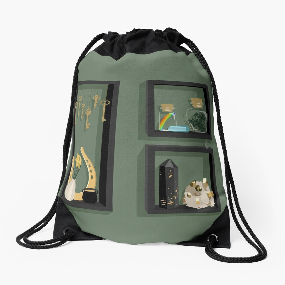March Collection Drawstring Bag