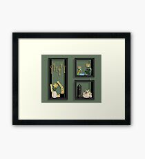 March Collection Framed Print