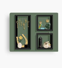 March Collection Canvas Print