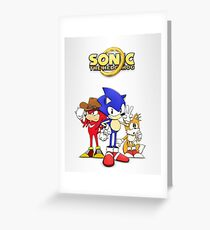Sonic OVA Greeting Card