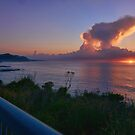 Dawn on the Seacliff Bridge overlooking the South Pacific Ocean by Kenneth Hall