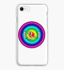 13.1 HALF MARATHON RAINBOW iPhone Case/Skin