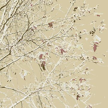 Coffee colored leaves and branches by BryanSoCal