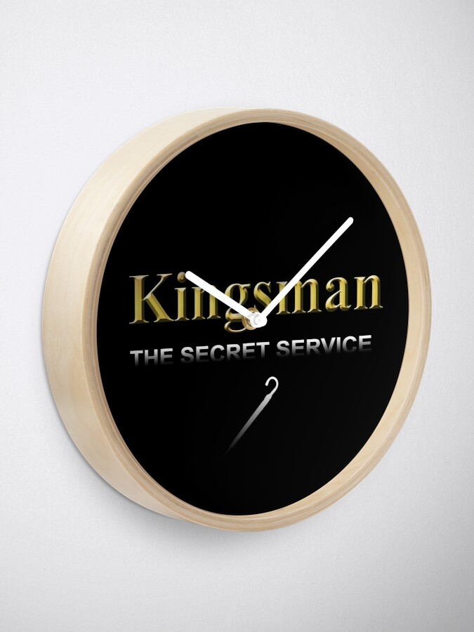 Alternate view of Kingsman Title Gold Umbrella  Clock