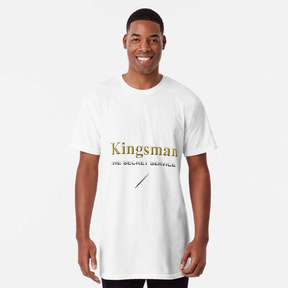 Kingsman Title Gold Umbrella  Long T-Shirt