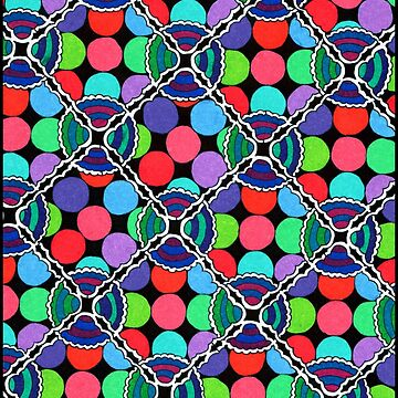 Colorful Dots Maze by gorff