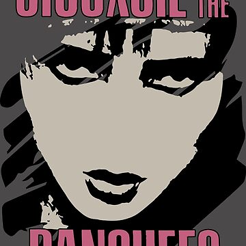 Siouxsie and the Banshees Band Distressed 80s Punk Retro SiouxD Faded Vintage  by neonfuture