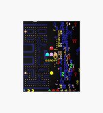Retro Arcade Split Screen Art Board
