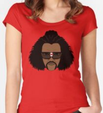 Sho Nuff the shogun of Harlem! Women's Fitted Scoop T-Shirt