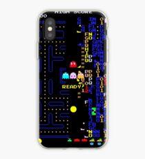 Retro Arcade Split Screen iPhone Case