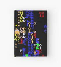 Retro Arcade Split Screen Hardcover Journal
