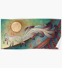 Der Messenger - Kitsune, Fox, Yokai Poster