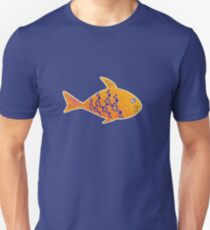 Fish, Flowers and Curls T-Shirt