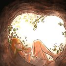 In the hollow of me, the refuge by art-mella