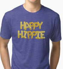 Happy Hippie Foundation [Balloons] Tri-blend T-Shirt