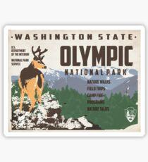 Travel Washington Sticker