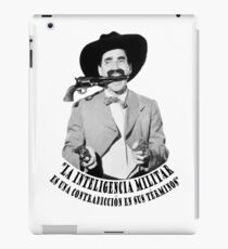 Vinilo o funda para iPad Groucho Marx Inteligencia Militar