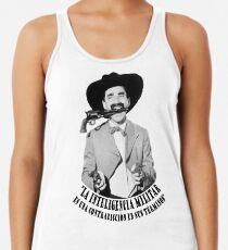 Camiseta con espalda nadadora Groucho Marx Inteligencia Militar
